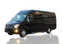 Long Island 13 Passengers Mercedes Sprinter Limo